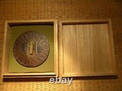 FINE ANTIQUE JAPANESE TSUBA SWORD SAMURAI EDO katana 200 / 300 years old SHAKUDO
