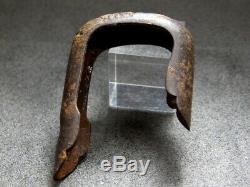 FINE Carving Flowers Sayajiri Sword fitting 18/19C Japanese Edo Original Antique