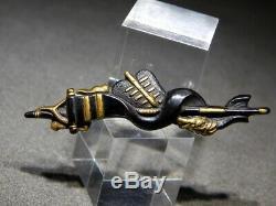 FINE Flag & Saihai Samurai Tools MENUKI 18-19thC Japanese Original Antique Edo