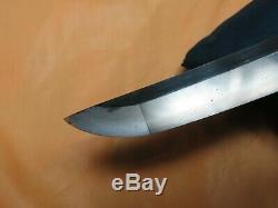 FINE HADA HAMON antique sword Katana Samurai Japanese fuchi seppa saya edo