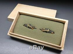 FINE Shakudo Shinto MENUKI 18-19thC Japanese Edo Antique for Koshirae F909a