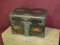 Fine Antique Miniature Japanese Lacquer Chest