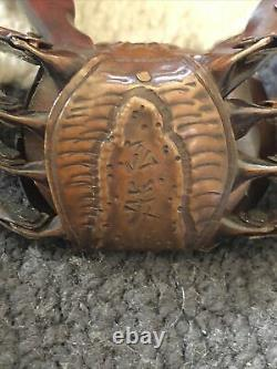 Fine JAPANESE MEIJI-ERA Copper Articulated of a Crab, Signed c. 1880