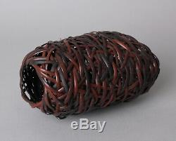 Fine Japanese Ikebana Bamboo Basket AA79