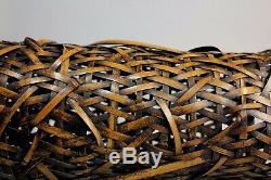 Fine Japanese Ikebana Bamboo Basket X89