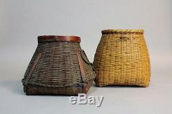 Fine Japanese Ikebana Bamboo Baskets X90