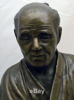 Fine Japanese Meiji Bronze Okimono Fisherman