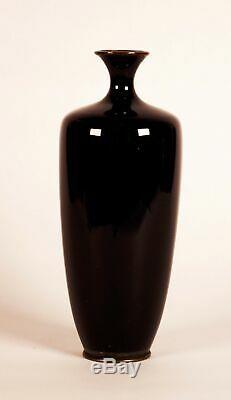Fine Japanese Meiji Cloisonne Vase