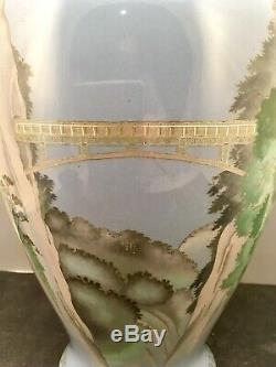 Fine Japanese Meiji Cloisonne Vase by Hayashi Tonigoro