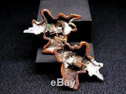 Fine MENUKI 18-19th C Japanese Edo Antique Sword fitting Fukurokuju c866