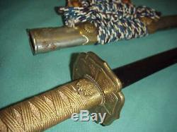 Fine Presentation Japanese Samurai Tachi Katana Clouds Choji Hamon Imperial Gift