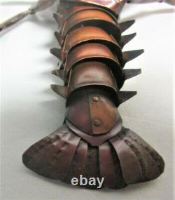 Fine Signed 19th C. Meiji-Era JAPANESE Articulated Crayfish Lobster antique