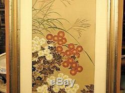 Japanese Block Print Chrysanthemums Sakai Hoitsu Museum of Fine Arts Boston
