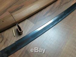 NICE Fine Muromachi LONG wakizashi sword Antique Samurai japanese koshirae saya