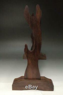 SWR199 FINE Assembling type Japanese wooden sword rack stand # Katana Kake