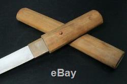 VG116 FINE Japanese short sword #wakizashi tsuba kashira seppa habaki