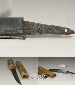 VG125 FINE Japanese short sword #wakizashi tsuba kashira seppa habaki