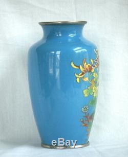 Very Fine Japanese Cloisonné Vase