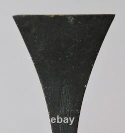Very fine beautiful shape signed Japanese Bronze Vase Y54