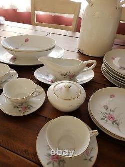 Vintage Japanese fine china-Golden Rose pattern. Good condition